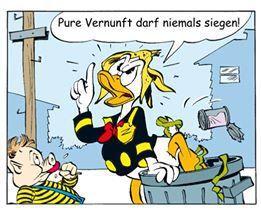 Monotronic - Ein Tocotronic-Comic im Micky Maus Magazin