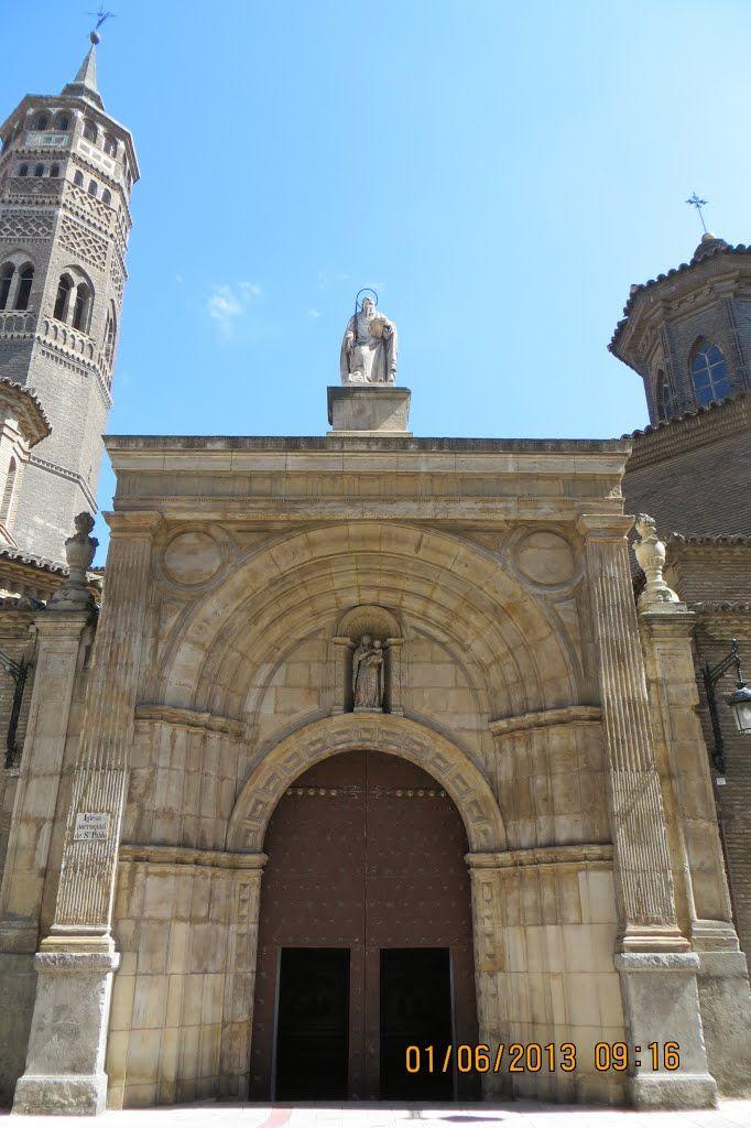 Iglesia de S. Pablo. Ciudad de zaragoza, Zaragoza, Ciudades