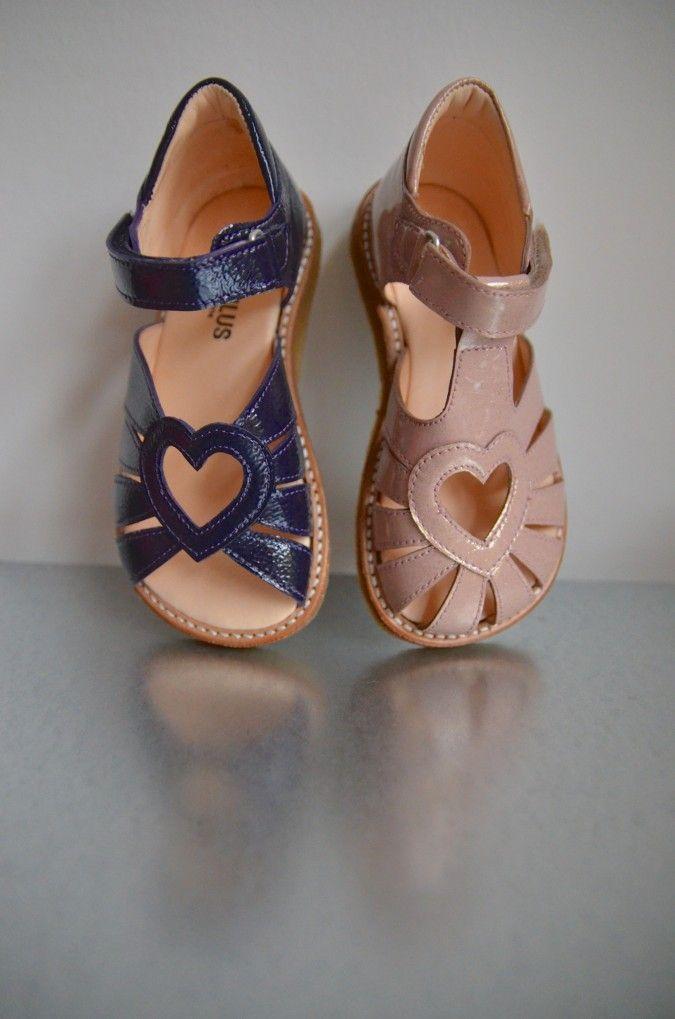 Kid's patent leather sandals - Angulus - Via Little Scandinavian