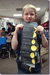 I know this activity is for first graders, but it's a great visual for middle school