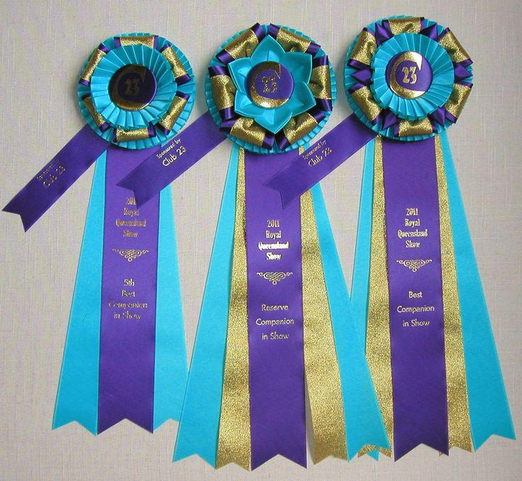 Pat's Blue Ribbons