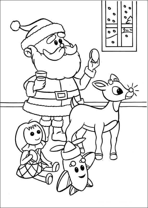 Printable Rudolph Coloring Pages Free Coloring Sheets Rudolph Coloring Pages Coloring Pages Coloring Books