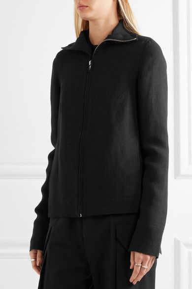 Rick Owens - Linen Jacket - Black - IT42