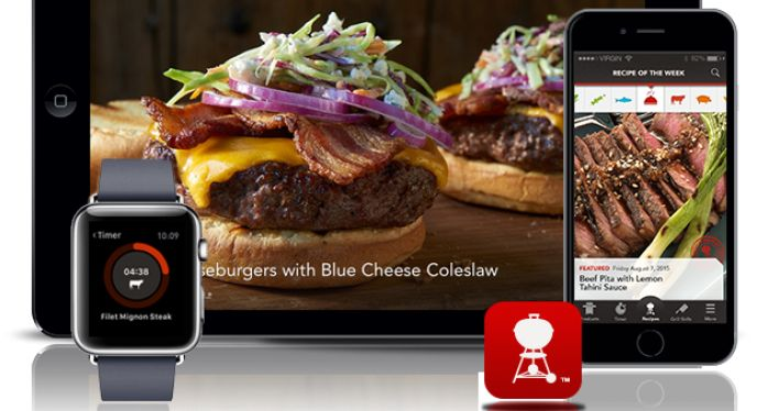 Weber.com - Blog - NEW Weber Grills iPhone App