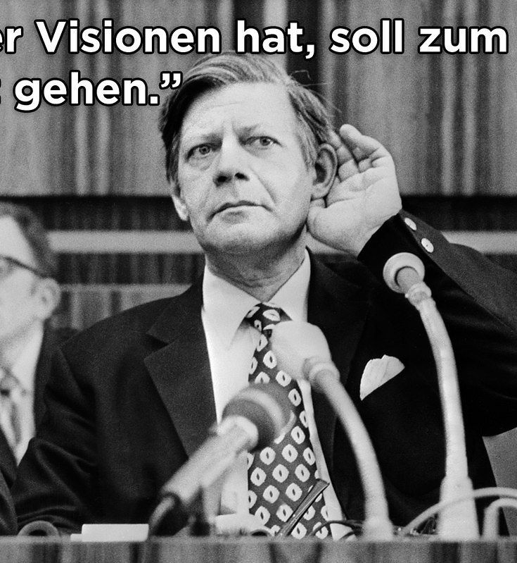 Helmut Schmidt Sprüche