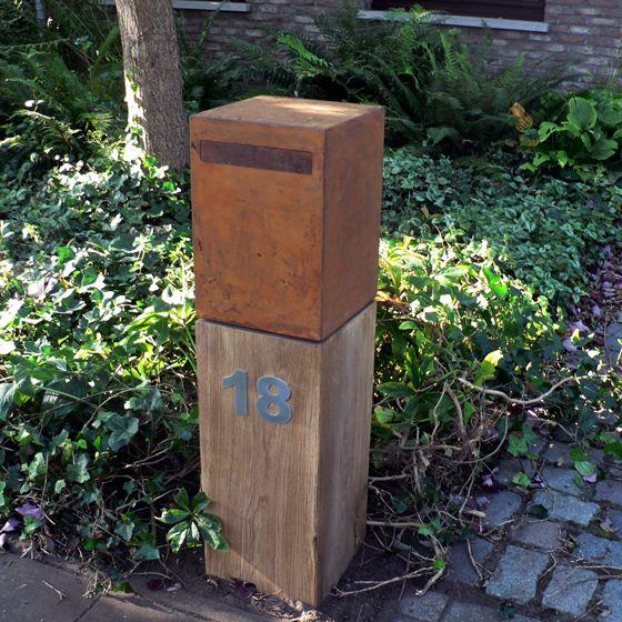 Cortenstaal-Brievenbus-WoodCube-04