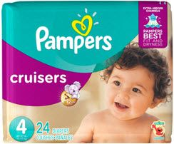 Pampers Jumbo Pack Diapers or Easy Ups for $4.66 at CVS (3/12)