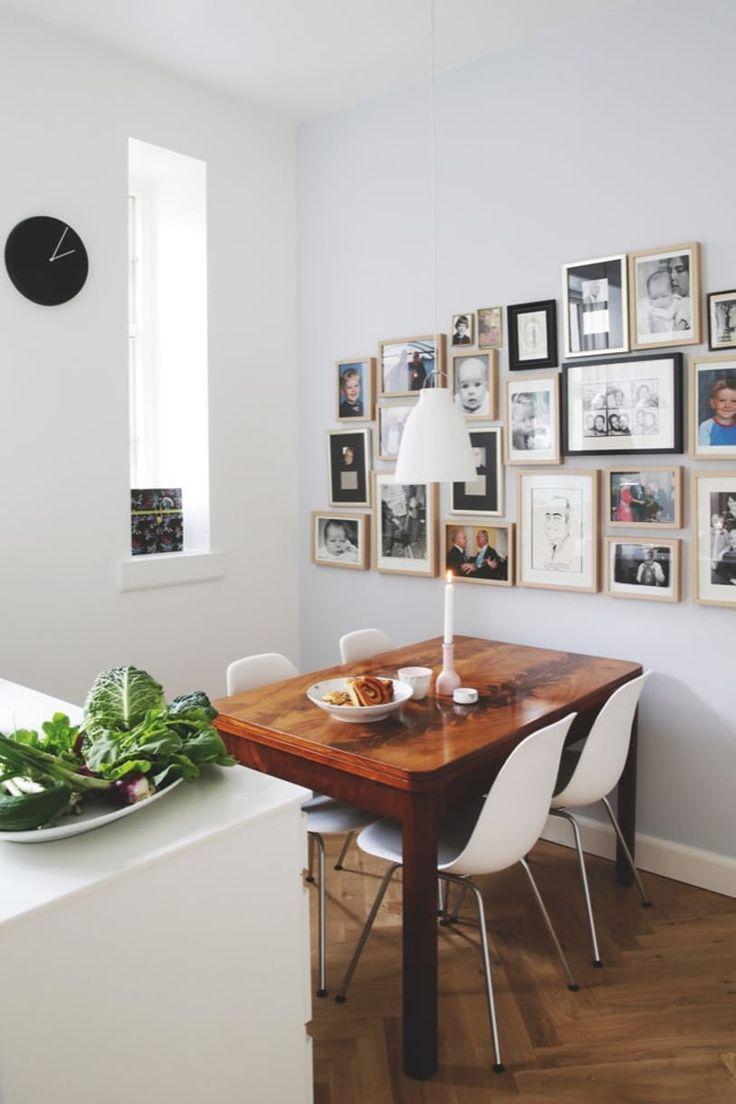 Louise Dorph-Petersen Houvenaeghel og hendes kæreste, tv-vært Jes Dorph-Petersen har fyldt deres nye, fælles hjem med personlige skat. Se hele boligen her.