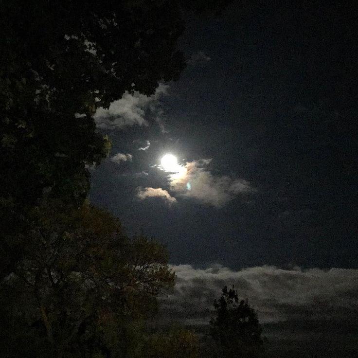A full moon tonight in @seetorontonow. #moon #photooftheday #igtoronto