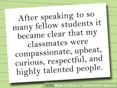 The  Best Valedictorian Speech Examples Ideas On