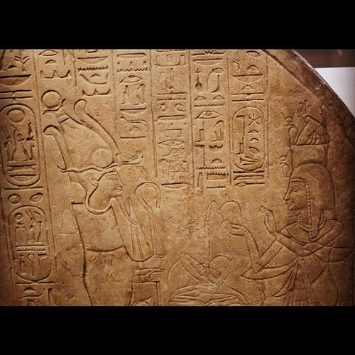 https://flic.kr/p/dx2sFV | Day 28 - Stela of Isis, Daughter of Ramesses VI