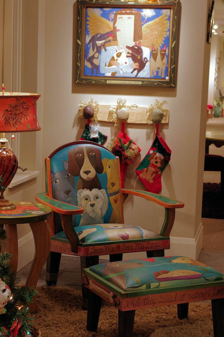 Charming Great Furniture And Art For Dog Lovers At New Morning Gallery In Biltmore  Village In Asheville NC.