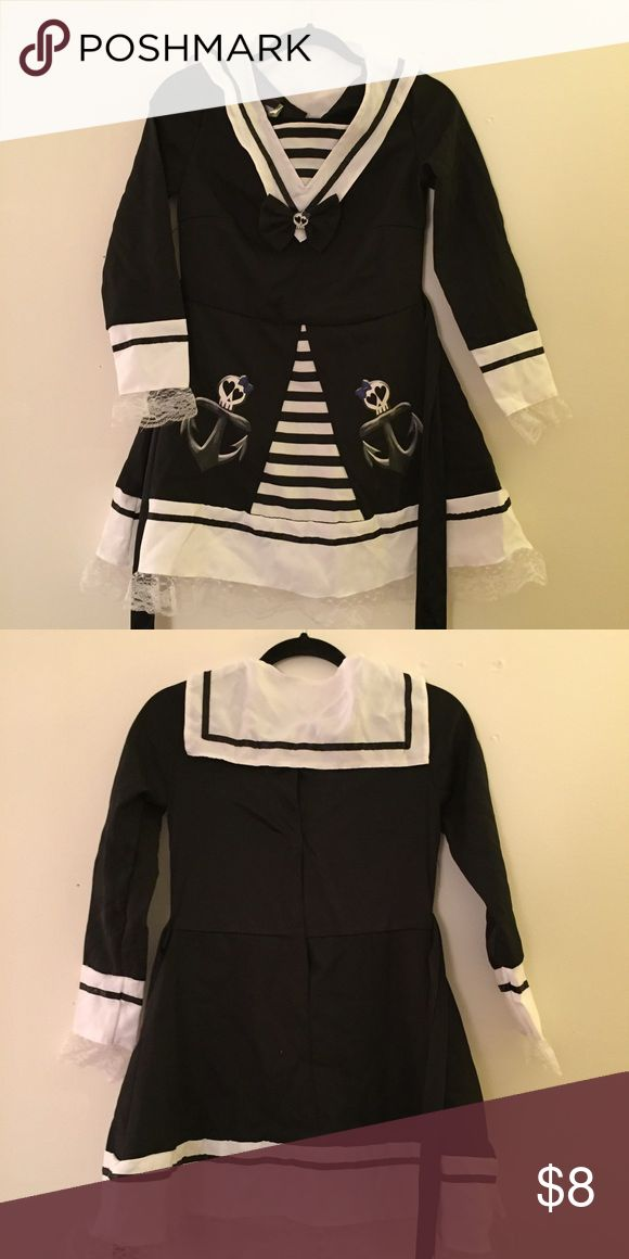 Zombie sailor Halloween costume dress Never worn Dresses