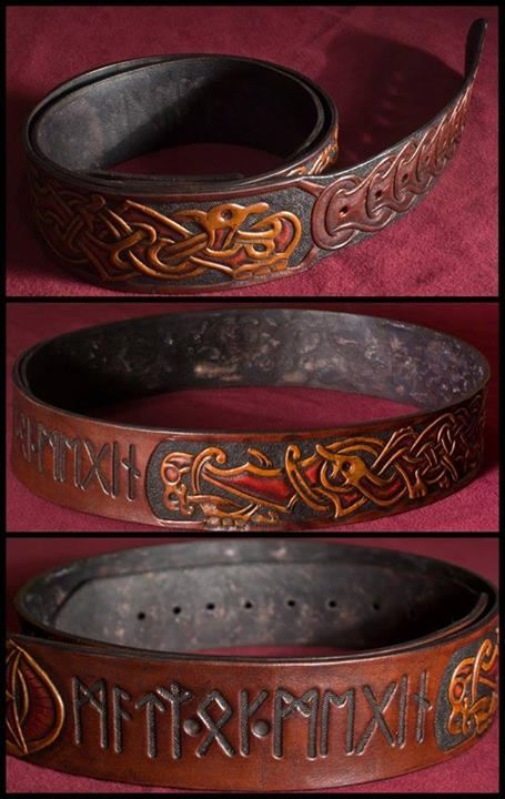 Gird your waist with a Middle Earth inspired design.