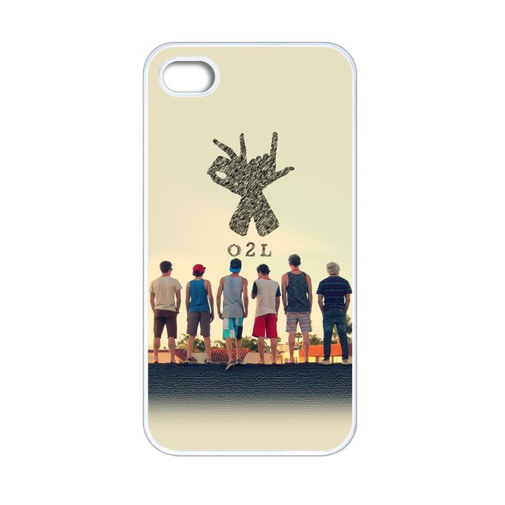 O2l Collage Hand Sign iPhone 4[S] Case