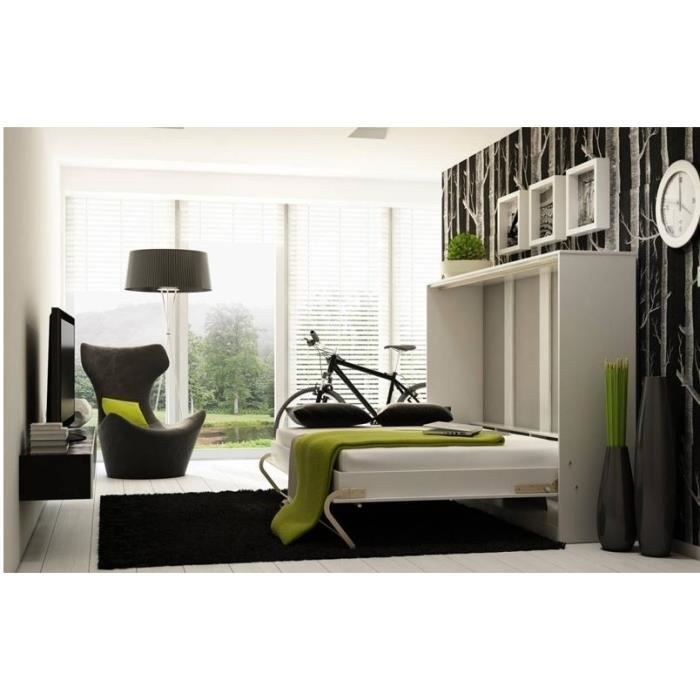 lit escamotable lit escamotable vertical couchage 140x200 stratifi lit escamotable pour un. Black Bedroom Furniture Sets. Home Design Ideas