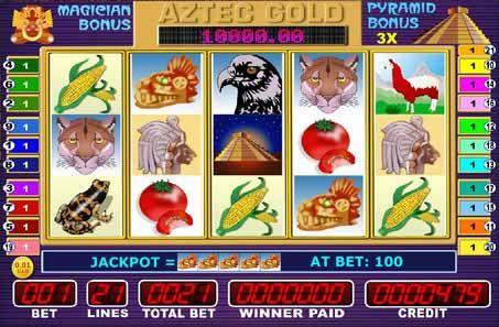Игровой автомат (слот) Aztec Gold