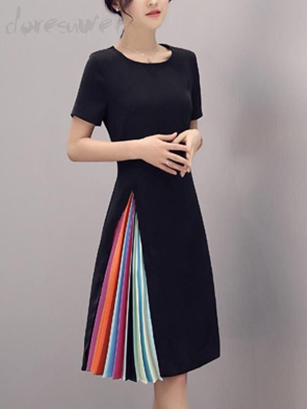 Doresuwe.com SUPPLIES おしゃれOL女性必須ワンピース気質出勤ドレス OL通勤ワンピース (5)
