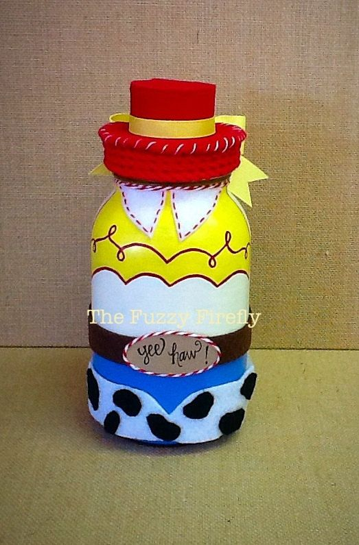 Hey, I found this really awesome Etsy listing at https://www.etsy.com/listing/263726914/handmade-jessie-toy-story-inspired-mason