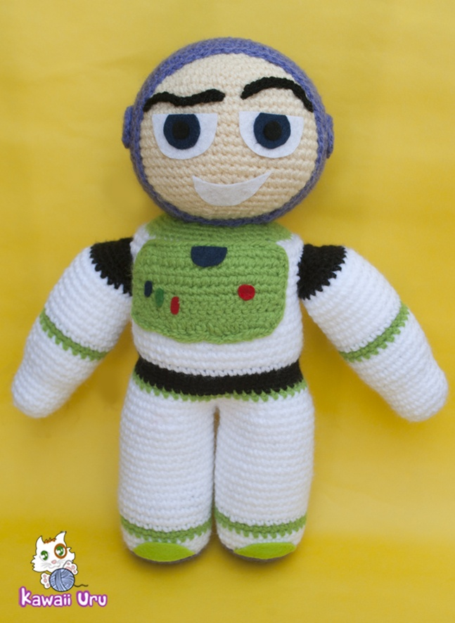 Knitting Pattern Toy Story Characters : Buzz Lightyear Amigurumi apexwallpapers.com