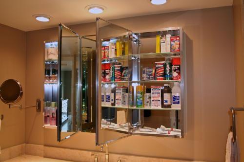 tri view recessed medicine cabinet 2