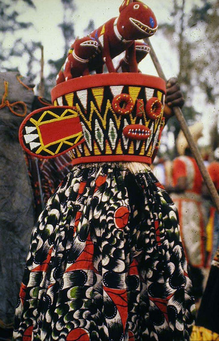 Africa | The Bamileke of Cameroon | ©Denis Lonchampt   - Explore the World with Travel Nerd Nici, one Country at a Time. http://TravelNerdNici.com