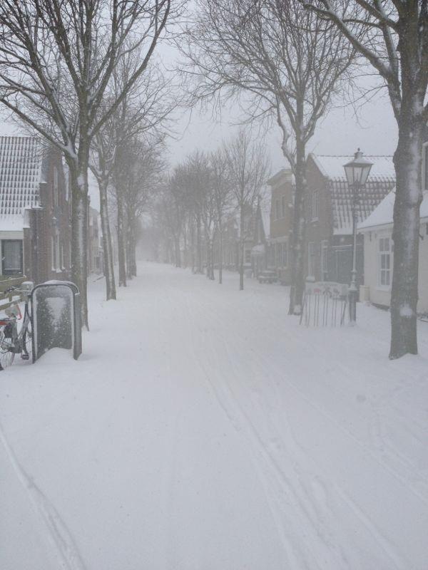 11 maart 2013 - Winterweer op Vlieland