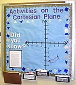 Site with many interactive bulletin board ideas! (Many will work for secondary math!!) Must Examine!!  Follow me for more secondary math ideas!!