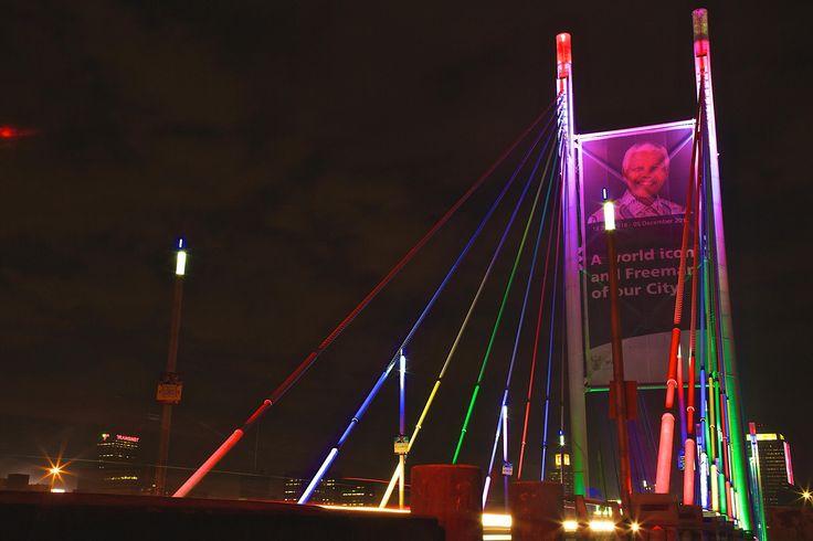 Nelson Mandela Bridge by Mafologele Bafedile on 500px