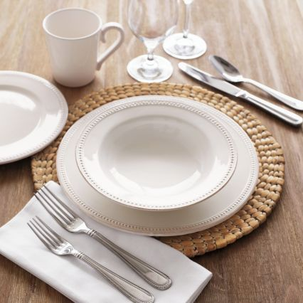Pearl 16-Piece Dinnerware Set | Sur La Table ~ Saw this set in the & 48 best Tableware we like images on Pinterest | Dish sets Dishes ...