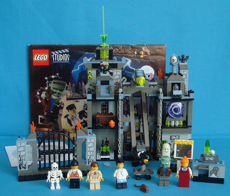 lego studios scary laboratory | Lego Studios 1382 Scary Laboratory 100% Complete with Instructions and ...