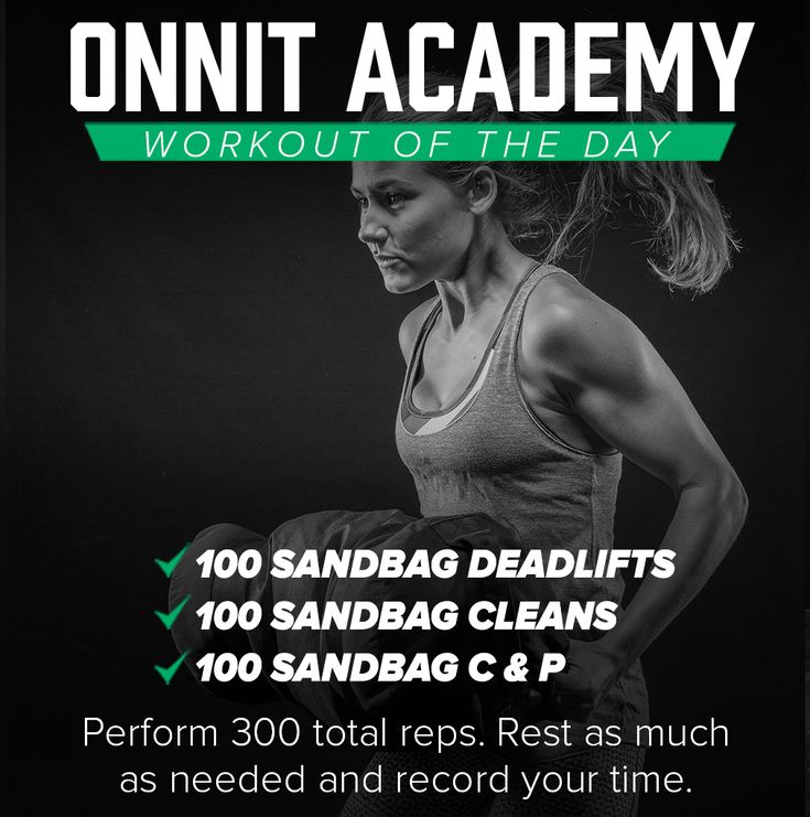 Onnit Academy Workout of The Day #16 - Sandbag Workout