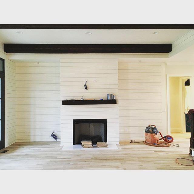 Cement Board Hardy Plank On Fireplace Fireproof