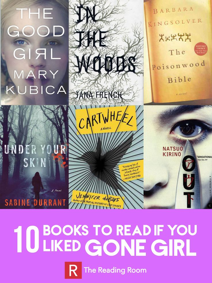 Looking for a book like Gone Girl? Check out these other mystery, thriller, and suspense books!