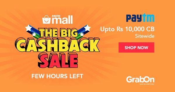 It's the LAST DAY of the #Paytm Big Cashback Sale! Grab the offer Now!  #cashback #offers #discount #sale #india #PaytmMall