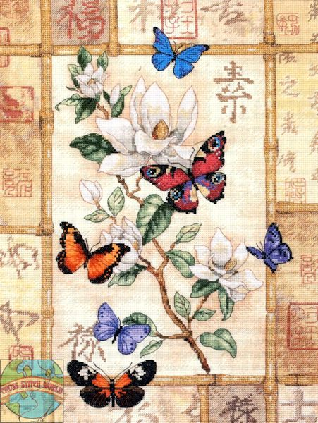 Gold Collection - Brilliant Butterfly Celebration - Cross Stitch World