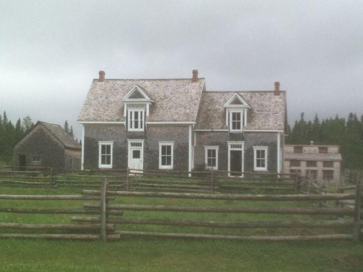 Maison du Village acadien photographié en 2012...