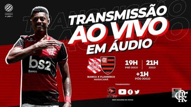 Narracao Online Flamengo X Bangufutebol Ao Vivo Mengaoaovivo Fla Tv Campeonato Carioca De 2020 Campeonato Carioca Futebol Ao Vivo Flamengo