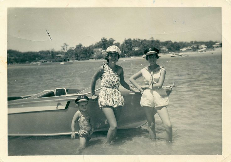 Below is a recent acquisition for our Local History collection.  'Three bathing beauties at Bayview'  This is one of the great photos kindly donated by Les Moule.  The photo shows his sisters at Bayview circa 1960. We always appreciate any copies of historical photos of the local area which we can add to our collection!