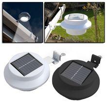 [Bulk Discount] 10 x Solar Gutter Light Clip-on Fence Outdoor Garden Yard Pathway Lamp White