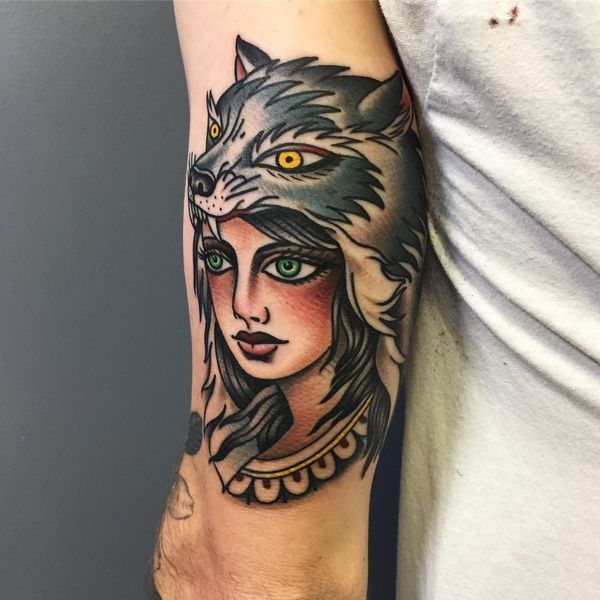 American Traditional Wolf Tattoos – Designs and Meanings - Wolf tattoos can be inked in different styles and designs, but the traditional one is mainstream. Traditional wolf tattoos describe the bearer, his beliefs, and attitude to the World. Coming to the symbolism of the …