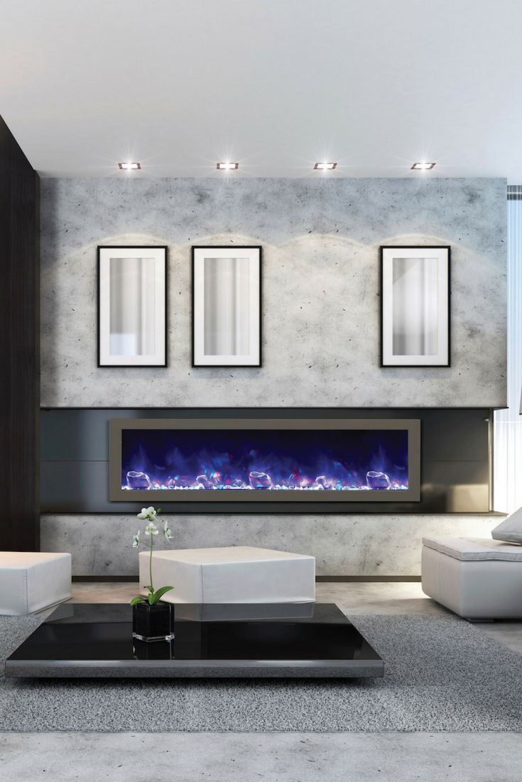 Best 25+ Modern electric fireplace ideas on Pinterest ...