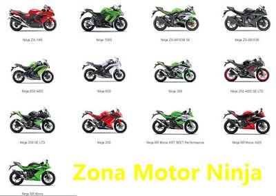 Daftar Harga Motor Ninja 4 Tak Terbaru Harga Dan Modifikasi Motor