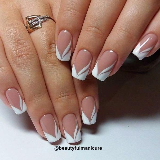 Summer French Nails Classy Classicfrenchnails French Tip Nail Designs French Nail Designs French Tip Nails