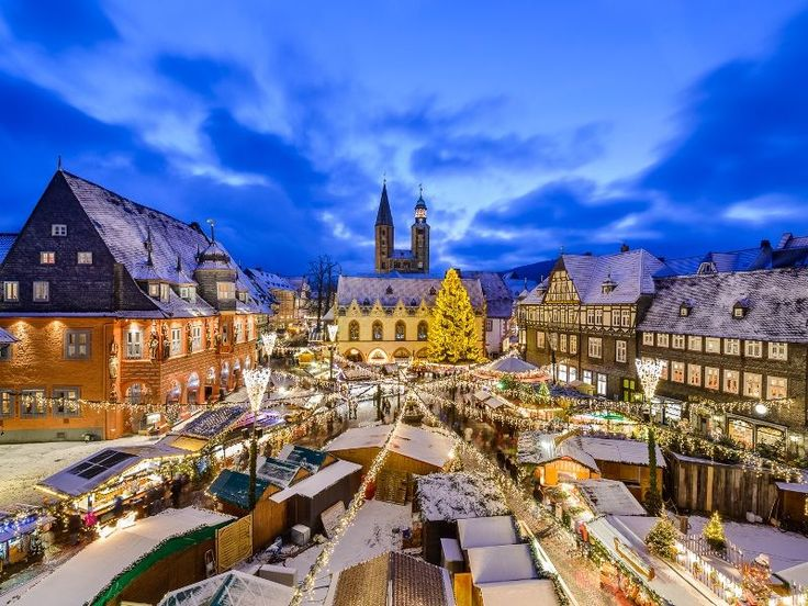 Christmas Market in Goslar, Germany. We visited it again in 2015. Amazing every time!