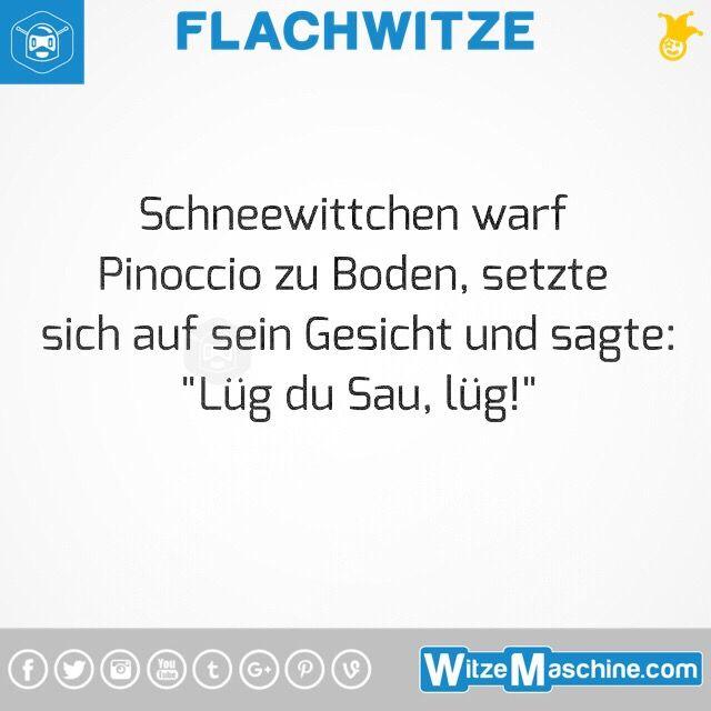 Flachwitze #287 - Schneewittchen das Flittchen und Pinocchio