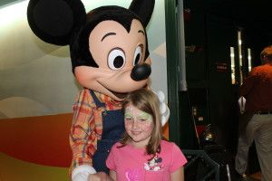 Walt Disney World Character Reservation Suggestions