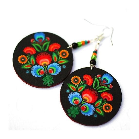 Folk Flowers polish folk art