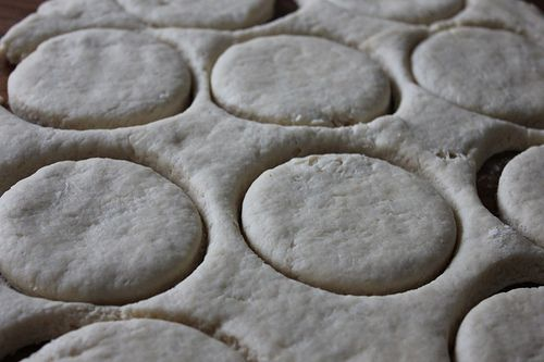 Money saving mom freezer biscuit recipe... In the oven now! Thanks @bybarra
