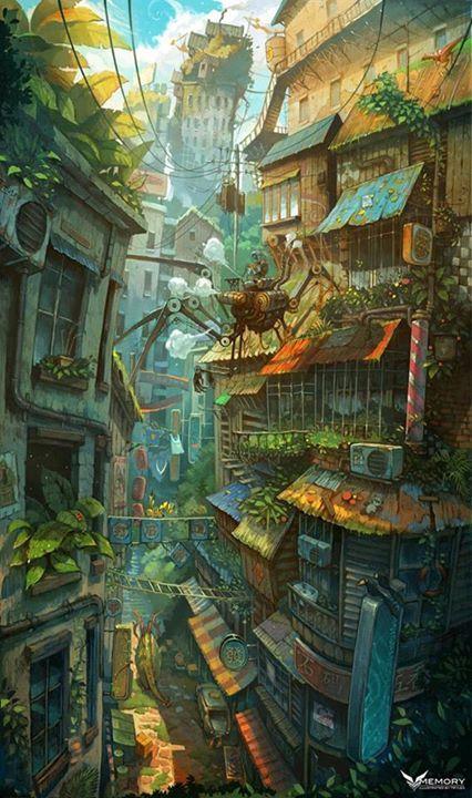 Art by Zhichao Cai*  • Blog/Website | (http://trylea.zcool.com.cn/) ★ || *Please…                                                                                                                                                                                 More